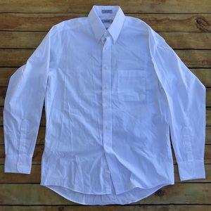 ⚡️⬇️ 2/$23 Men's Izod White Dress Shirt Neck 15.5